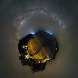 Planète de nuit de Komodo Images stock