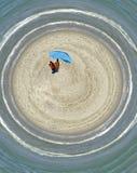 Planète de plage Image libre de droits