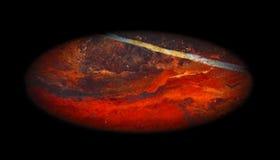 Planète de texture de jaspe Photographie stock libre de droits