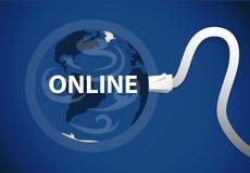 Planète de Web Image stock