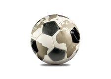 Planète du football Photographie stock