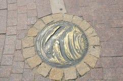 Planète en bronze de Vénus images libres de droits