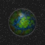 Planète isolée illustration de vecteur
