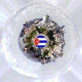 Planète isolée - Cuba Photographie stock libre de droits