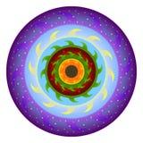 Planète le soleil, tournesol Images stock
