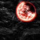 Planète lointaine illustration de vecteur