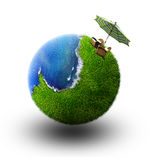 planète rêveuse Photographie stock libre de droits