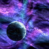 Planète sur le fond du cosmos Images stock