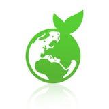 Planète verte Photographie stock libre de droits