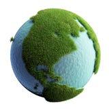 planète verte de la terre Photos stock