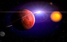 planètes Image libre de droits