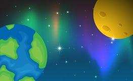 planètes Images stock