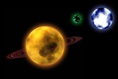 planètes Image stock