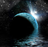 Planètes dans l'espace photos libres de droits