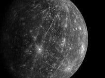 Planètes et galaxie, papier peint de la science-fiction photographie stock