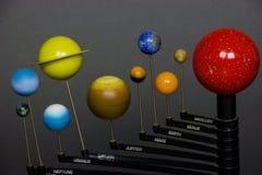 planètes galactiques de système Images libres de droits