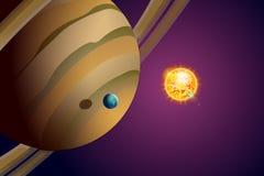 Planètes set13 Images libres de droits