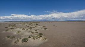 Planície da areia Fotografia de Stock Royalty Free