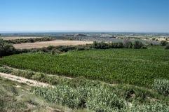 A planície de Lleida Imagem de Stock Royalty Free