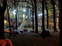 Planície do ¡ de Letnà da noite Imagens de Stock Royalty Free