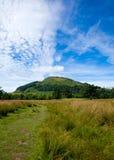 Planícies pantanosos em torno do Loch Tay Fotos de Stock Royalty Free