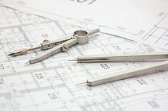 Plan 2 de construction Image stock