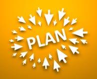 Plan Royalty Free Stock Images