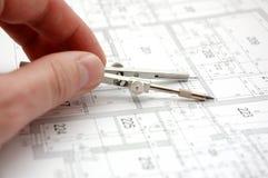 Plan 6 de construction Photographie stock