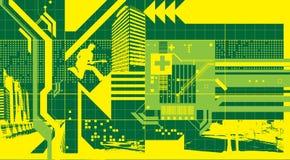 Plan al aire libre abstracto Imagen de archivo libre de regalías