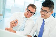 Plan analysis Stock Image