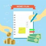 Plan-Anmerkung 003 Lizenzfreies Stockfoto
