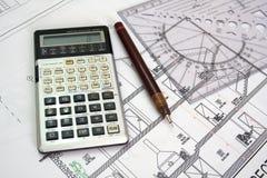 Plan architectural photos libres de droits
