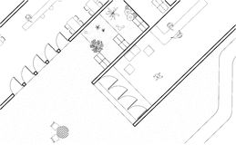 Plan architectural photo libre de droits