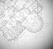 Plan architectural Image stock