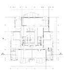 Plan architectural Image libre de droits