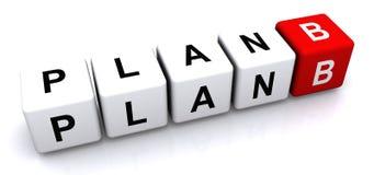 Plan B stock de ilustración