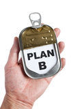 Plan B Royalty Free Stock Image
