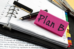 Plan B Stock Photo