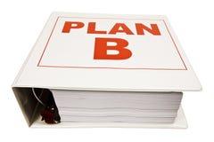 Plan B Binder Royalty Free Stock Image