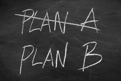 Plan B Royalty Free Stock Images