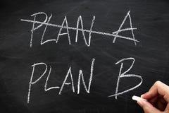 Plan B Royalty Free Stock Photo