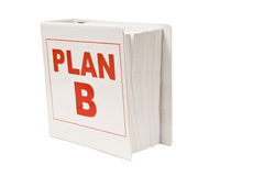 Plan B Book Stock Images