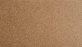 Plan bakgrundscloseup för brunt papper Royaltyfri Fotografi