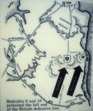 plan bitwy royalty ilustracja