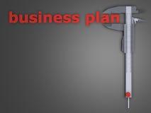 Plan biznesowy ilustracji