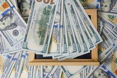 Plan biznesowy na pieniężnego dochodu, dolara i biznesu diagramach, obraz royalty free
