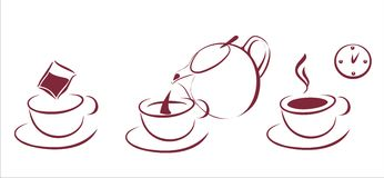 plan browarniana herbata Zdjęcia Stock