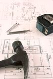 plan budowy fotografia stock