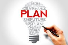 Plan bulb Royalty Free Stock Image