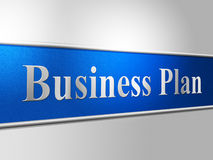 Plan Business Represents Proposal Suggestion And Stratagem Royalty Free Stock Photos